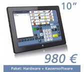 "Tablet Kasse  10,1""Touchscreen + Kassensoftware"