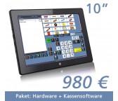 "Tablet Kasse  10,1""Touchscreen + Kassensoftware"