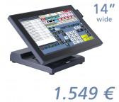 """mediaPOS Nino II 14""""-Touchscreen"""