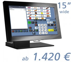"AURES YUNO Wide 15.6""-Touchscreen"