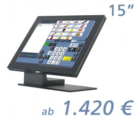 "AURES YUNO (4:3) 15.1""-Touchscreen"